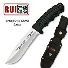 KNIFE COLTELLO DA CACCIA RUI RU31935 TANIWHA SURVIVOR SOPRAVVIVENZA SPESSORE 5mm