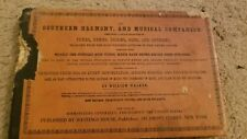 The Southern Harmony And Musical Companion By William Walker 1939 Hymn Book WPA