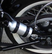 Borraccia + Supporto Harley Davidson Softail spinger -2007/LATO SINISTRO ARGENTO