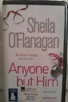 Anyone But Him by Sheila O'Flanagan: Unabridged Cassette Audiobook (J3)