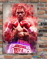 MANNY PACQUAIO BOXING LEGEND, Custom Designed Metal Wall Sign-2 sizes(#1)