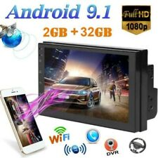 "Android 9.1 2Din 7"" Car Stereo Radio GPS Navigation Wifi 2GB RAM 32GB New"