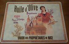 """Set de table """"huile d'olive"""""""