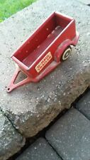 Vintage Pressed Steel U-Haul Toy Trailer