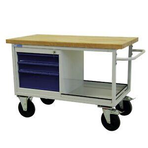 ADB mobile Werkbank Werktisch Tischwagen Werkstattwagen Werkstatt Rollwagen