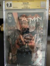 Batman #90 CGC 9.8 SS Tynion IV ECCC Convention Only Foil Variant Cover