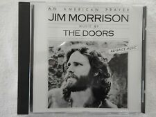 """Jim Morrison """"An American Prayer"""" BRAND NEW PROMO ONLY ADVANCE CD! NEVER PLAYED!"""