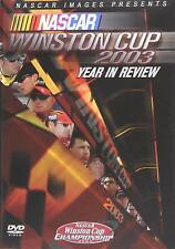 NEW DVD - NASCAR - WINSTON CUP 2003 - YEAR IN REVIEW - 5.1 SURROUND SOUND
