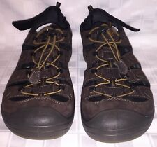 Mens Size Euro Size 46 USA 13 ECCO BIOM DELTA OFFROAD Yak Leather Sandals Shoes