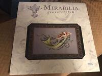 Mirabilia Emerald Mermaid by Nora Corbett Cross Stitch Pattern MD-77 2004 NOS