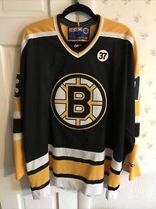 CCM Size XXL Vintage Boston Bruins Bill Guerin #13 Canada Sewn Rare  Jersey!!