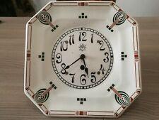 Orologio da parete Junghans anni '30 art deco decò ceramica movimento meccanico