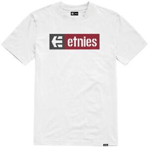 Etnies New Box SS T-Shirt White/Red 2021