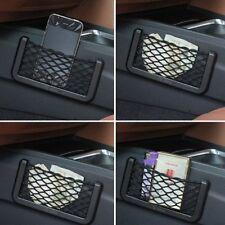 Car truck Van Pocket Storage Mesh Net Bag Organizer Smart Phone cigarette Holder