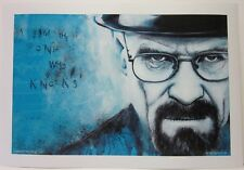 Breaking Bad by Rob Prior Hand Signed Print