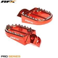 RFX Pro dientes de tiburón Motocross Bicicleta Estriberas-KTM SX 85-105 2003 -17 - Naranja