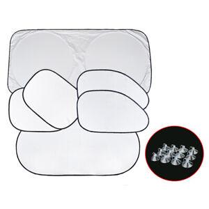 6x Car Window Sun Shade Foldable Windshield Shield Block Cover Accessories