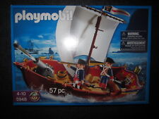 SET BARCO INGLESES, FRANCESES, PIRATAS PLAYMOBIL 5948