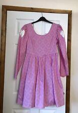 LADIES DISNEY PINK PRINCESS DRESS - SIZE L - ARIEL LITTLE MERMAID COSPLAY BNIB