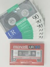 New listing Maxell Normal Bias Ur 90 Mins Audio Cassettes - Lot of 7