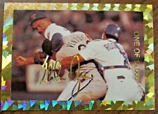HOF NOLAN RYAN-ROBIN VENTURA FIGHT TRADING CARD/ ONE OF 15,000/FREE SHIPPING