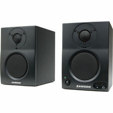 Samson MediaOne BT4 Active Bluetooth Monitors Powered 2-Way Amplified Speakers