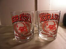 Four Nebraska Cornhuskers Football 1994 National Champions Glasses