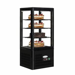 COUNTERTOP REFRIGERATED DISPLAY TEFCOLD UPD 80 SANDWICH SNACKS REFRIGERATED