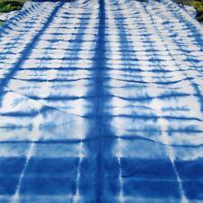 5 Yard Indian Hand-Dyed Cotton Fabric Shibori Bhandani Crafts Sewing Material A2