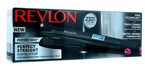 Revlon Digital Perfect Straight Heat 230° Digital Hair Straightener #