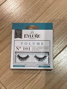 Eylure False Eyelashes - VOLUME Style 101 - Genuine Eylure False Lashes!
