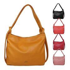 Glüxklee Shopper Rucksack-Handtasche 2in1 Damen Schultertasche Shopper