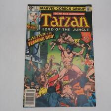 Marvel Comic Tarzan #3 Edgar Rice Burroughs from Aug. 1977