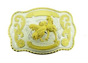 New Rooster Cockfighting Belt Buckle Western Cowboy HEBILLA DE CINTURÓN DE GALLO