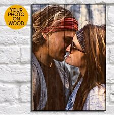 Gifts For Boyfriend Birthday Gift For Him Personalised Custom Wood Photo Frame