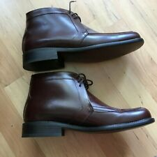 JEFFREY WEST MENS BROWN LEATHER BOOTS SIZE 8
