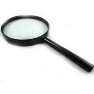 """Tzone Large Handheld Magnifying Glass 4"""" 100mm Jumbo Powerful Reading Map UK"""