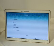 Samsung Galaxy Tab S SM-T800 16GB, Wi-Fi, 10.5in - White/Gold  16-7A