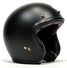 Bell Custom 500 - Matte Black Open Face Retro Helmet Next Day Delivery XXL