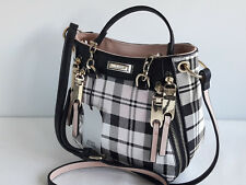 RIVER ISLAND Mixed Check Mini Tote Bag BNWT