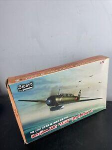 "Sword 72073 Nakajima C6N1 ""Saiun"" (Myrt) Model 11 1/72 Japanese WW2 Fighter RARE"