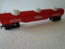 COKE 1/87 HO SCALE COCA COLA EXPRESS LIMITED TRAIN TRIPLE DOME TANK CAR
