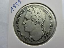 Belgique 5 francs 1849