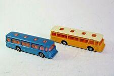 Dinky 296 & 293,  P.T.T & Duple Viceroy 37 Luxury Coach x 2