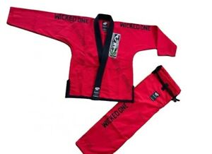 Jiu Jitsu GI BJJ kimono uniform Brand New Gi Red GI SIZE A1 BRAZILAN BJJ 450 GSM
