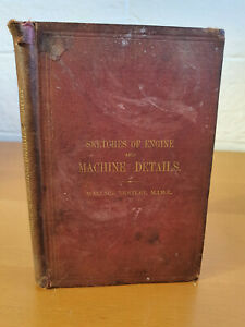 WALLACE BENTLEY Sketches of Engine and Machine Details - 1912 edition