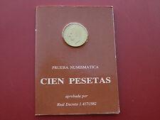 CARTERA FNMT 100 PESETAS 1982-ESPAÑA