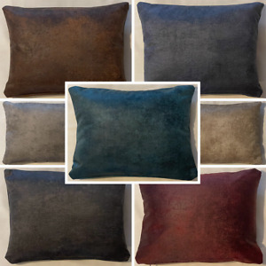 High Quality Handmade Rectangle Rustique Velvet Cushion Cover Sofa Bed Zipper