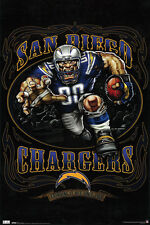 #Z58 Chargers Running Back Poster 24X36