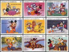 Antigua & Barbuda 1997 Disney/Mickey/Chess/Cartoons/Animation 9v set (b6077)